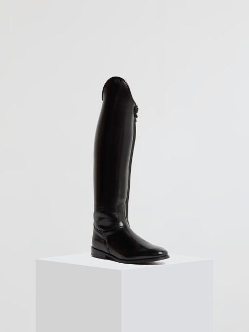 Kingsley Capri Riding Boots uragano black front view