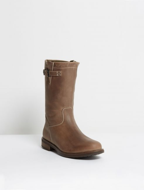 Kingsley Oslo Outdoorboot gaucho grey front view