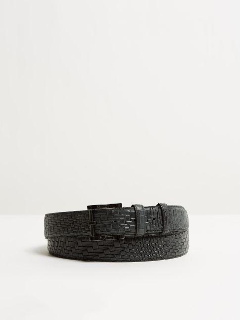 Kingsley Belt Braid Black