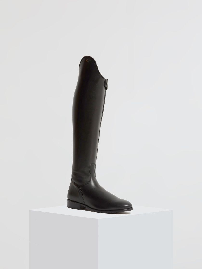 Kingsley Capri Riding Boots montana black front view